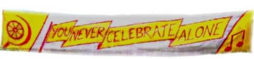 never celebrate alone